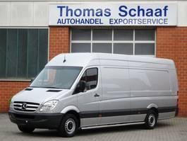 closed lcv Mercedes Benz Sprinter 313 Cdi Maxi L4H2 Extra Lang Lbw Klima 3.5 t Euro 5 2012