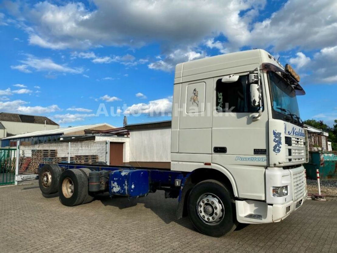 Fahrgestell LKW DAF XF95 430 SpaceCap 6x2 Euro 2