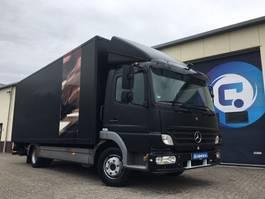 closed box truck > 7.5 t Mercedes-Benz Atego 818 L 4x2 + Plywood box 2006
