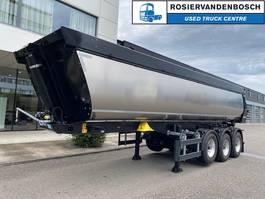 tipper semi trailer Meiller MHPS 44/4 Geïsoleerde asfaltkipper Zonder kleppen Lange uitvoering 2020