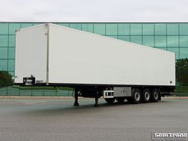 closed box semi trailer Van Eck UT-3I CLOSED BOX HEATER SAF AXLES DISC BRAKES TAIL LIFT 2006