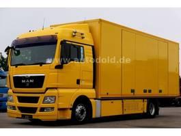 car transporter truck MAN TGX440 Autotransporter Seilwinde Doppelstock EEV 2011