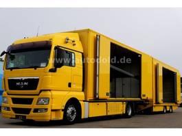 car transporter truck MAN TGX440 Autotransporter kpl. Zug Seilwinde EEV 2011