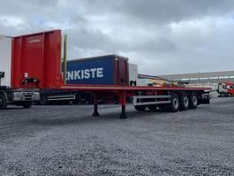 flatbed semi trailer LeciTrailer NIEUW UIT STOCK LEVERBAAR 2 X VERSTERKTE PLATEAU 2020