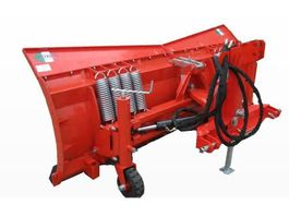 snow shovel truck attachment Boxer groot model