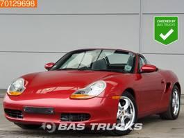 convertible car Porsche Boxter 2.7 RHD 2002