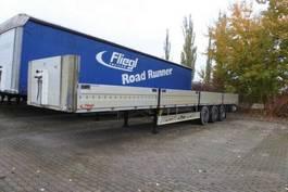 drop side semi trailer Fliegl Bordwandsattel 600 mm klappbar auf 3 Seiten