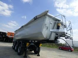 tipper semi trailer Fliegl 25 cbm Stahlkipper,schlammdicht,Lift,SAF Scheibe