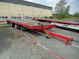drop side full trailer Fliegl 18 to Tandemanhänger 2008