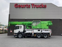crane truck Scania P380 LIEBHERR LTF 1035 KRAN/KRAAN/CRANE /MONTAGEKRAN/GRUA 2008