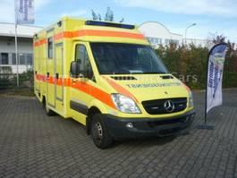ambulance lcv Mercedes-Benz 516 W.A.S. Koffer RTW viele Neuteile 2009