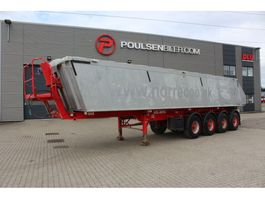 tipper semi trailer Kel-Berg 4-axle 37m3 alu body 2014