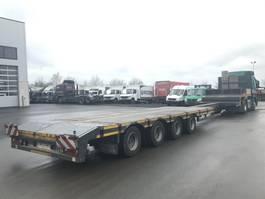 lowloader semi trailer 4 Achs-ausziehbar 4LSDU 18-40 2 Achsen gelenkt 2017
