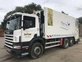garbage truck Scania P94-260 6x2 **REFUSE TRUCK-BENNE ORDURE** 2004