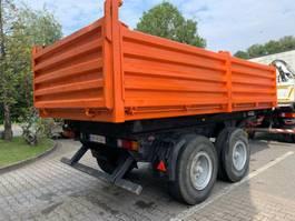 tipper car trailer Müller-Mitteltal KA-TA 16 3-Seiten Kipper 1991