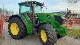 Landwirtschaftlicher Traktor John Deere 6170R DD met Fronthef, TLS, Lucht en 50Km/h. 2013