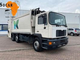 garbage truck MAN 25.284 6x2 Garbage truck 19m3 2001