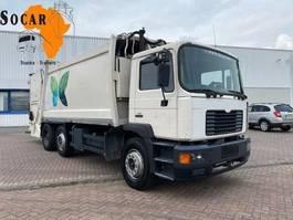 garbage truck MAN 25.322 25.284 6x2 Garbage truck 19m3 2001
