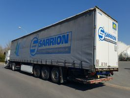 sliding curtain semi trailer Lecitrailer *** 2009 *** 2009