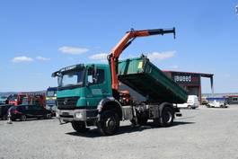 tipper truck > 7.5 t Mercedes-Benz 1833 AXOR AK / Kipper/ 4x4 / Kran Euro 5/Allrad 2008