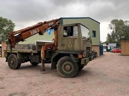 army truck Bedford Bedford TM 4X4 Crane Hiab truck ex army 1989