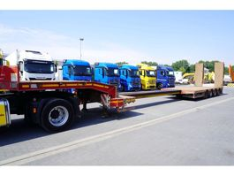 lowloader semi trailer Faymonville STN-4AU , 4 axles , extended , stretched , max 15,80 x 3,23m , 2013
