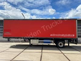 closed box semi trailer Netam-Fruehauf ONCRK 22 110 A | Racing trailer + tent 1997
