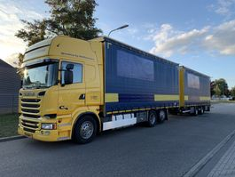 Schiebeplanen-LKW Scania R 520 V8 EURO 6 FULL OPTION !!! 118 CM3 COMBY 2014