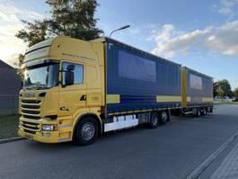sliding curtain truck Scania R 520 V8 EURO 6 FULL OPTION !!! 118 CM3 COMBY 2014