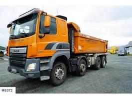 tipper truck > 7.5 t DAF CF85 8x4 tipper truck 2014