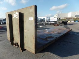 open top shipping container Vernooy GEBRUIKTE LAADVLOER 8282