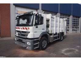 garbage truck Mercedes-Benz Axor 1824 Zoeller Mini XL 11 M3 2014