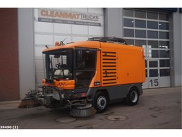 Road sweeper truck Ravo 580 80 km/h with 3-rd brush 2013