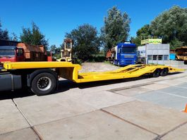 Tieflader Auflieger All in 2 assige truck transporter NOTE!
