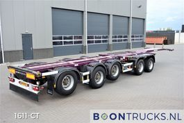 container chassis semi trailer D-TEC CT-60-05D   20-30-40-45ft * 3 x STEERING AXLE * 4 x LIFT AXLE 2009
