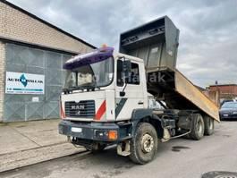 tipper truck > 7.5 t MAN F2000 27.314 6x4 Big Axel Manualgear