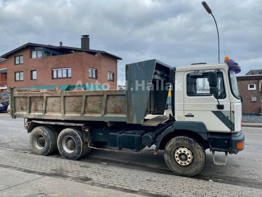 LKW Kipper > 7.5 t MAN F2000 27.314 6x4 Big Axel Manualgear