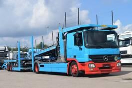 car transporter truck Mercedes-Benz Actros 1844 Euro5 Autotransporter 9PKW AT Motor 2007