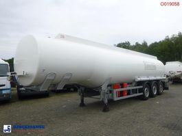 tank semi trailer semi trailer Cobo Fuel tank alu 42.9 m3 / 6 comp + counter 2007