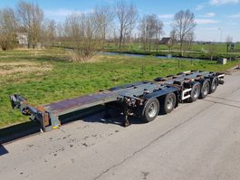 container chassis semi trailer D-TEC CT-60-05D Combi chassis 5 assen 2003
