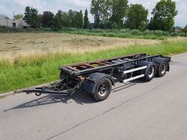 container chassis trailer Van Hool Container aanhangwagen afzetcontainers 1991