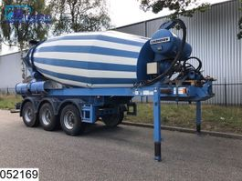 Betonmischer Auflieger Müller-Mitteltal Beton mixer Liebherr HTM 1204  12000 Liter Beton / Concrete mixer  12 M3 2010