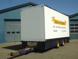 refrigerated trailer HWA 20MZ  Heiwo  2 As Koel/vries Middenas aanhanger TRS koeling 2008