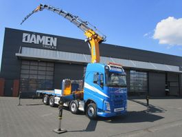 crane truck Volvo FH 500 8x2 EFFER 955/8S + JIB 6S 2014