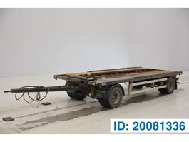 container chassis trailer MOL Container trailer 2004