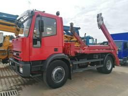 container truck Iveco 180E24 Meiller 3-Sitzer TÜV neu, guter Zustand