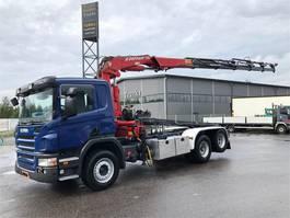 crane truck Scania P 380 6X2 2008