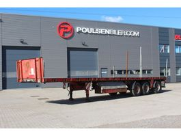 flatbed semi trailer HRD 12,90m with 7,5m extention 2006
