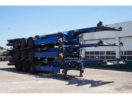 container chassis semi trailer Carnehl Container chassis Steel suspension / 40ft. / 30ft. / 20ft. / 2x20ft. / 20m 2007