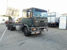 chassis cab truck DAF 95 400 ATI 6X2 ZF manual left hand drive. 1993